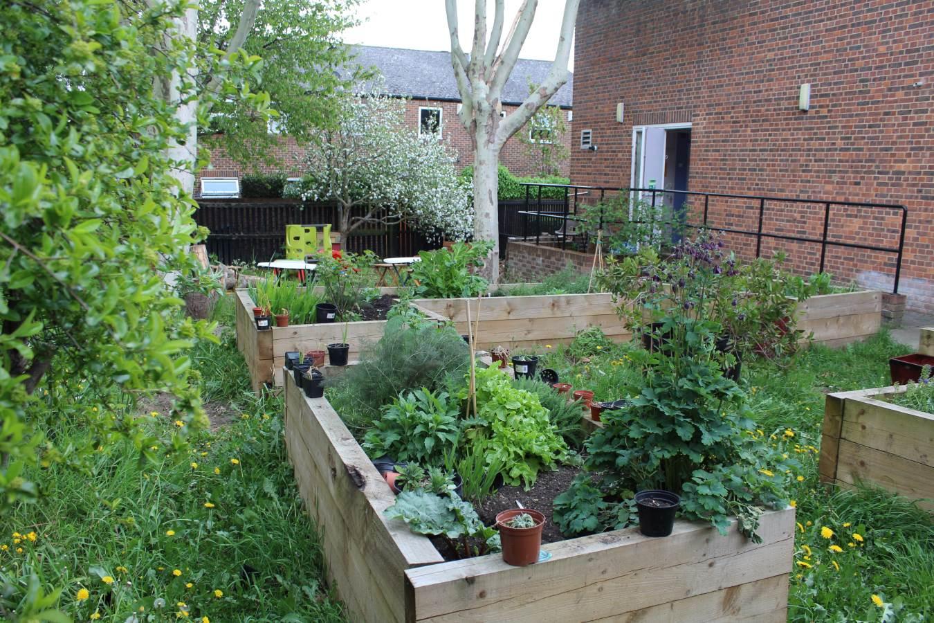 ewart hall garden